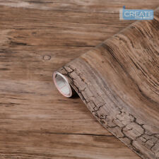 d-c-fix Sticky Back Plastic Self Adhesive Vinyl Wrap Wood Rustic 90cm x 1m
