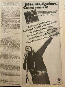 Charlie Daniels Band, Volunteer Jam VI, Vintage Promotional Ad