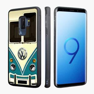 Retro Bus Tough Case for Samsung Galaxy S9 S8 Plus Note 9 8 S4 S5 S6 S7 Edge
