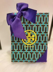 Tory Burch Gift Box With Bow Ribbon Magnetic Closure