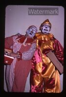 1963 Photo slide Milton Bradley Christmas Party for Kids #5 clowns   MB1