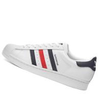 ADIDAS MENS Shoes Superstar - White & Scarlet - FX2328