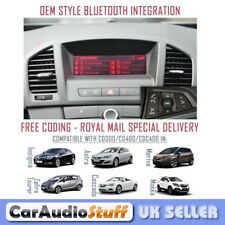 Vauxhall Retrofit OEM Upgrade Bluetooth for CD300 & CD400 Headunits A2DP