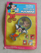 Vintage 1980s Monogram Disney Mickey Mouse Magnifier Toy NIP