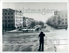 Main Boulevard Nakhodka Primorsky Krai Soviet Union Press Photo