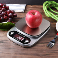 22LB 10KG/1G LCD Digital Electronic Kitchen Food Diet Weight Cooking Scales