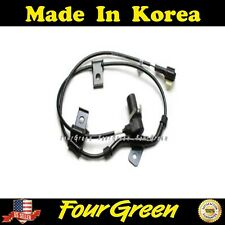 Front Left ABS WHEEL SPEED SENSOR Fits 2007-2009 Elantra Replace ALS1615 5S8585 2ABS0538 AB2072 V52720144 598102H300 598102L300