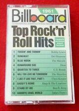 *Cassette Audio Album Billboard 1961 Top Rock'n'Roll Hits -