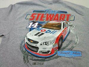 Tony Stewart #14 Nascar Pocket  T-Shirt Stewart-Haas Racing Large  NEW