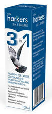 Harkers 3 In 1 Soluble 100ml Treatment For Canker Coccidiosis & Worms Pidgeons