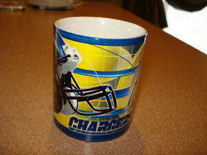 Vintage 2006 SAN DIEGO CHARGERS Coffee Mug Cup  Chargers  MINT BRAND NEW