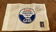 Phil Mickelson Signed Autograph 2002 Greater Hartford Open GHO champ golf flag