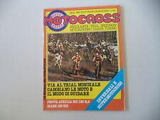 MOTOCROSS 3/1980 PROVE MOTO APRILIA 125 MX H2O / MAER 125 MX