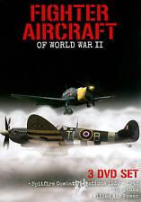 Fighter Aircraft of World War II (DVD, 2013, 3-Disc Set)