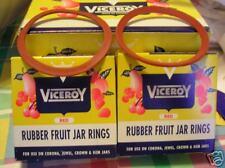 2 dozen viceroy regular size canning jar rubbers