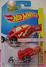 Case L 2014 i Hot Wheels HW POPPA WHEELIE #87☆Red☆Mr Lugo's Racing☆DAREDEVILS