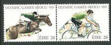 Ireland 1988 - Sports Summer Olympics Seoul 88 Horse Cycling - Sc 713aMNH