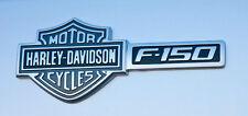 2009-2012 NEW OEM Ford F-150 Harley Davidson Package Emblem Set -Black/Chrome