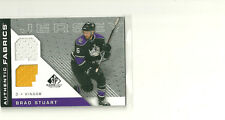 BRAD STUART 07-08 UPPER DECK SP GAME USED DUAL JERSEY LOS ANGELES KINGS
