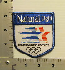 1 NATURAL LIGHT 84 LA OLYMPICS VINTAGE PATCH EMBROIDERED BEER PATCHES