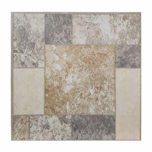 Vinyl floor tiles self adhesive easy to fit flooring DIY kitchen bathroom home