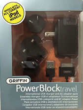 Griffin PowerBlock international USB charger for iPod