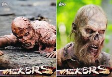 The Walking Dead Season 5 - Walkers Insert Chase Trading Card Set