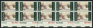 #1384 6c Winter Sunday, Plate Blk [Btm] Various #s Mint **ANY 4=FREE SHIPPING**