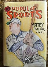NY Yankees Luke Voit Original Art Pulp Cover Recreation Vintage Baseball Book