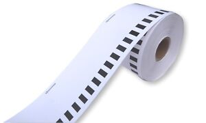 3 x 54mm x 30m NON-ADHESIVE CARD ROLL, BROTHER COMPATABLE  DK-N55224