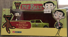Corgi CC82224 Mr Beans Mini Diecast Model & Resin Caraciture Figure