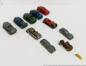 Antique TootsieToy & Miscellaneous Toy Lead Cars 1.25 To 4 inch