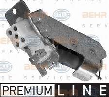 9XX 009 122-021 HELLA Resistor, interior blower