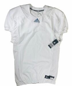 NWT Men's Adidas Techfit Hyped Football Jersey [White AZ9309] LARGE