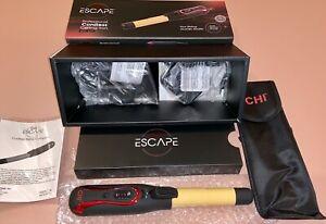 CHI Escape Professional Cordless Ceramic Curling Iron NEW