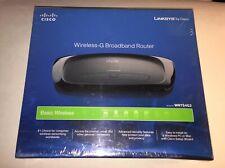 LINKSYS By Cisco Wireless G Broadband Router Model WRT54G2 Wi-Fi Brand New