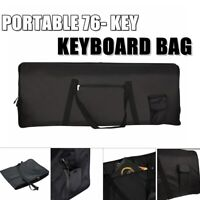 HEAVY DUTY Portable 76-Key Keyboard Electric Piano Padded Case Gig Bag Cloth