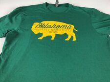 Oklahoma Baptist T-Shirt Womens Large Bison University Student Alumni Graduate