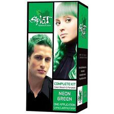 Splat Rebellious Colors Complete Kit, Neon Green 3 oz