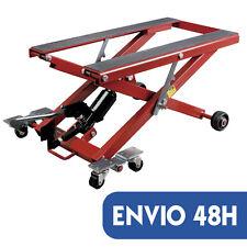ELEVADOR MOTO taller hidraulico 500KG caballete plataforma pedal pie 11-40CM
