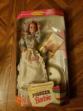 1995 Pioneer Barbie American Stories Collection 2nd Edition Opened Good Cond.