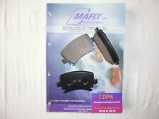 Mafix 4 plaquettes de frein arrière Skoda Superb / estate  (LDPA44)