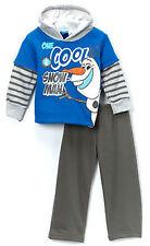 Boys Frozen Olaf Long Sleeve Hoodie Pant Set Size 3t - CL449