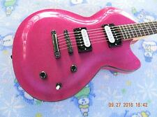 "Daisy Rock ""Rock Candy Classic"" in Atomic Pink,Upgrades,Sounds Killer!!!"