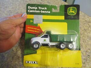 JOHN DEERE ERTL DUMP TRUCK CAMION-BENNE! - With Working Dump Bed! - NEW