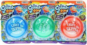 JA-RU Pro Hopper Skip Water Bouncing Disc Ball with Flashing Lights (3 Pack...