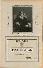 ADVERT Vineyard Wine Piper Heidsieck Champagne Veuve Cliequot Ponsardin 1777 -66