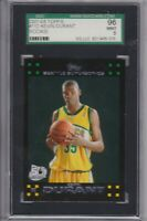 2007-08 Topps Basketball Kevin Durant rc #112 sgc 9 MINT supersonics psa bgs