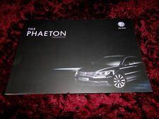 VW Phaeton Brochure 2013 - Aug 2012 issue