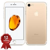 APPLE IPHONE 7 128GB GOLD RICONDIZIONATO GRADO A ORIGINALE 100%